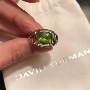 David Yurman Vintage Peridot Noblesse